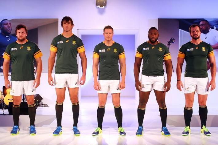 Asics Springbok Rugby Kit Launch Event
