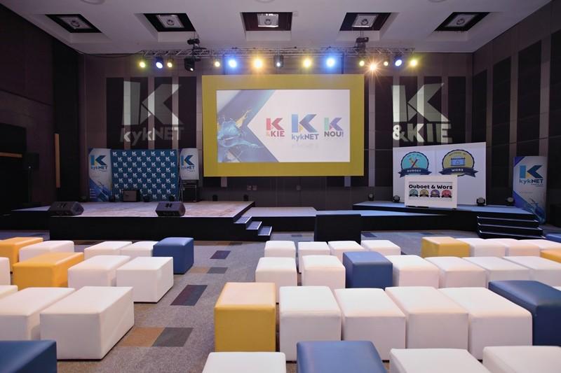 M-Net Showcase 8 Aug KykNET Lounge Empty