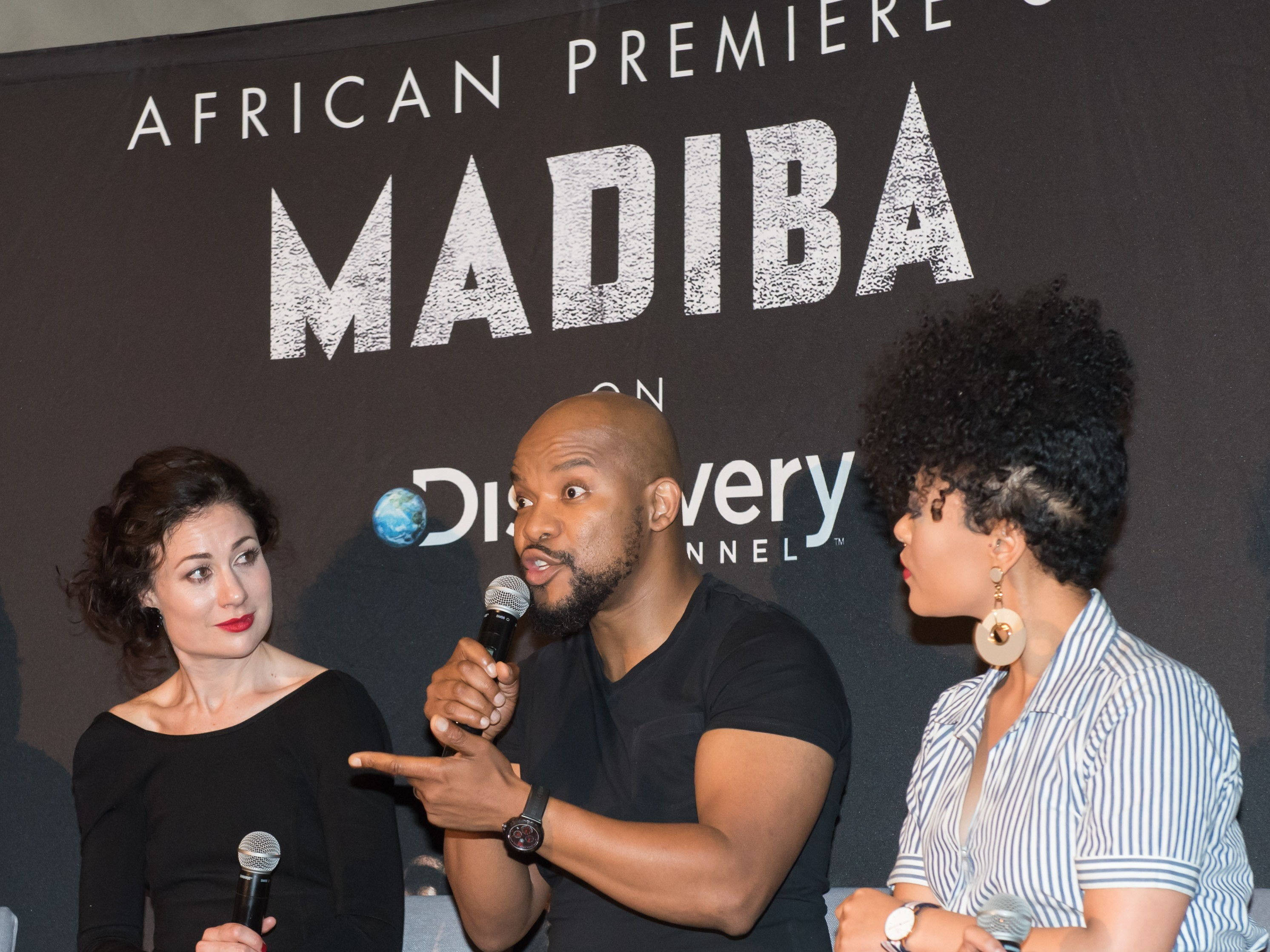 "Discovery Channel's ""Madiba Series"" launch event 2017"