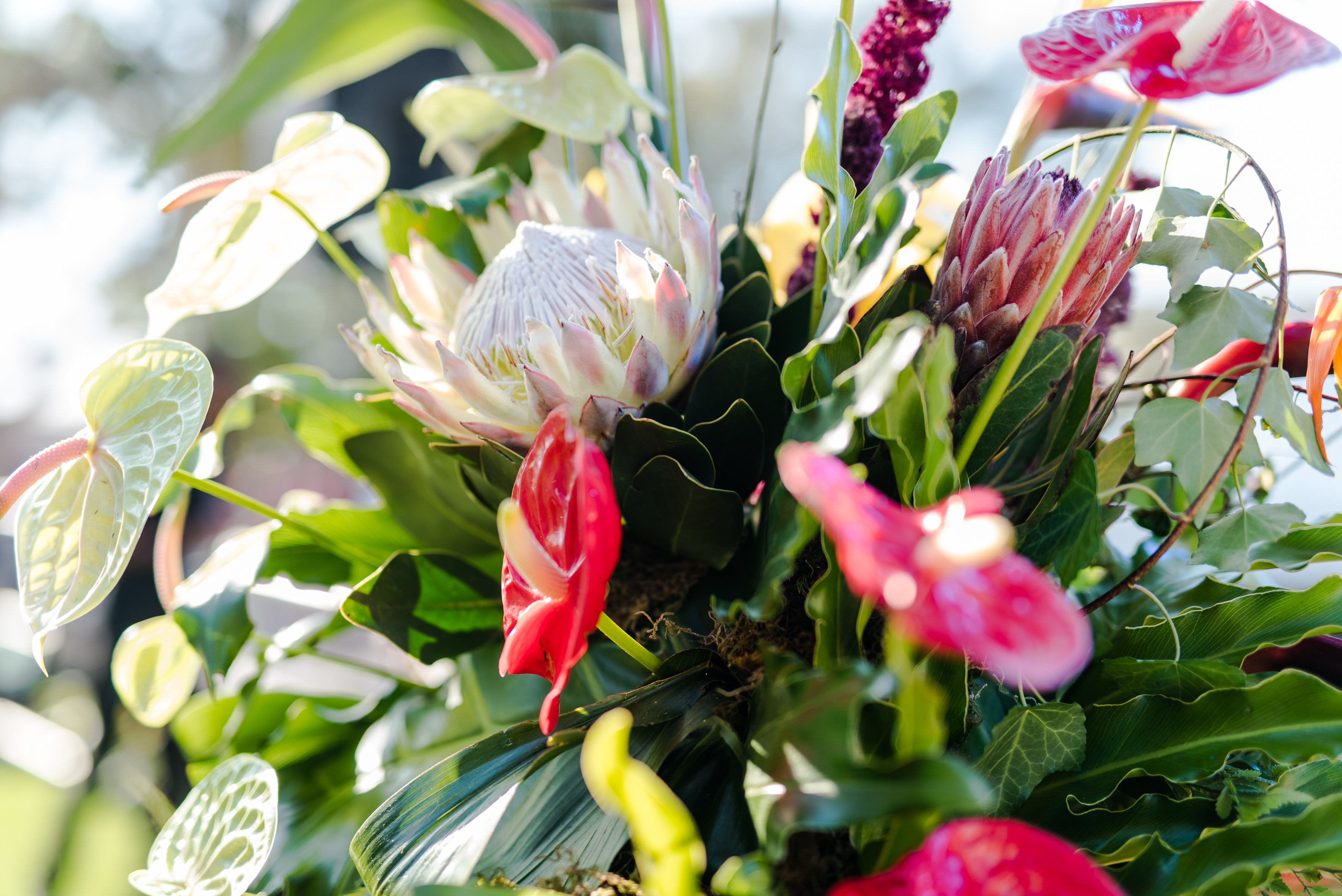 Flower Bouquet at the Carnival
