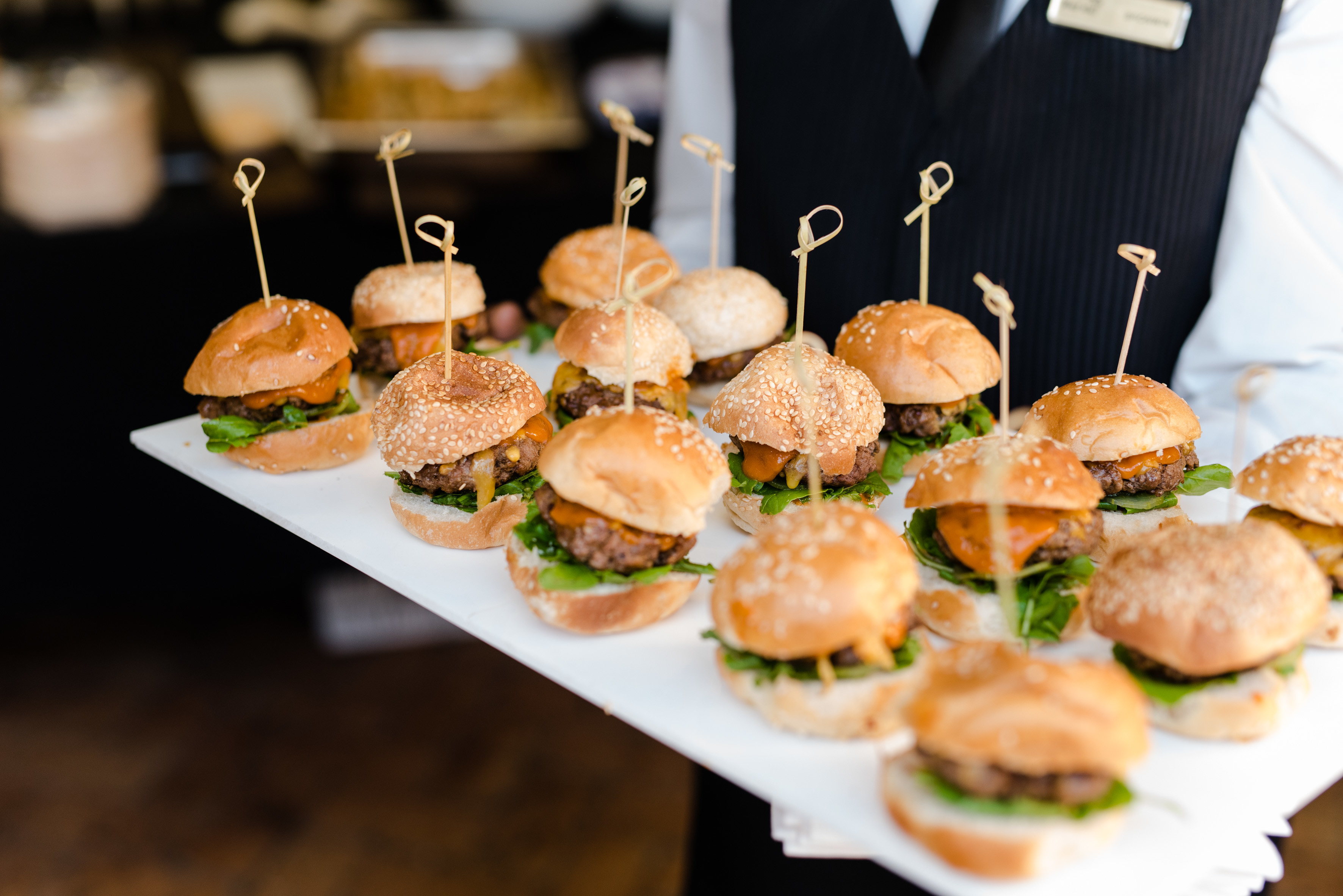 Cape Town Carnival Sliders Served