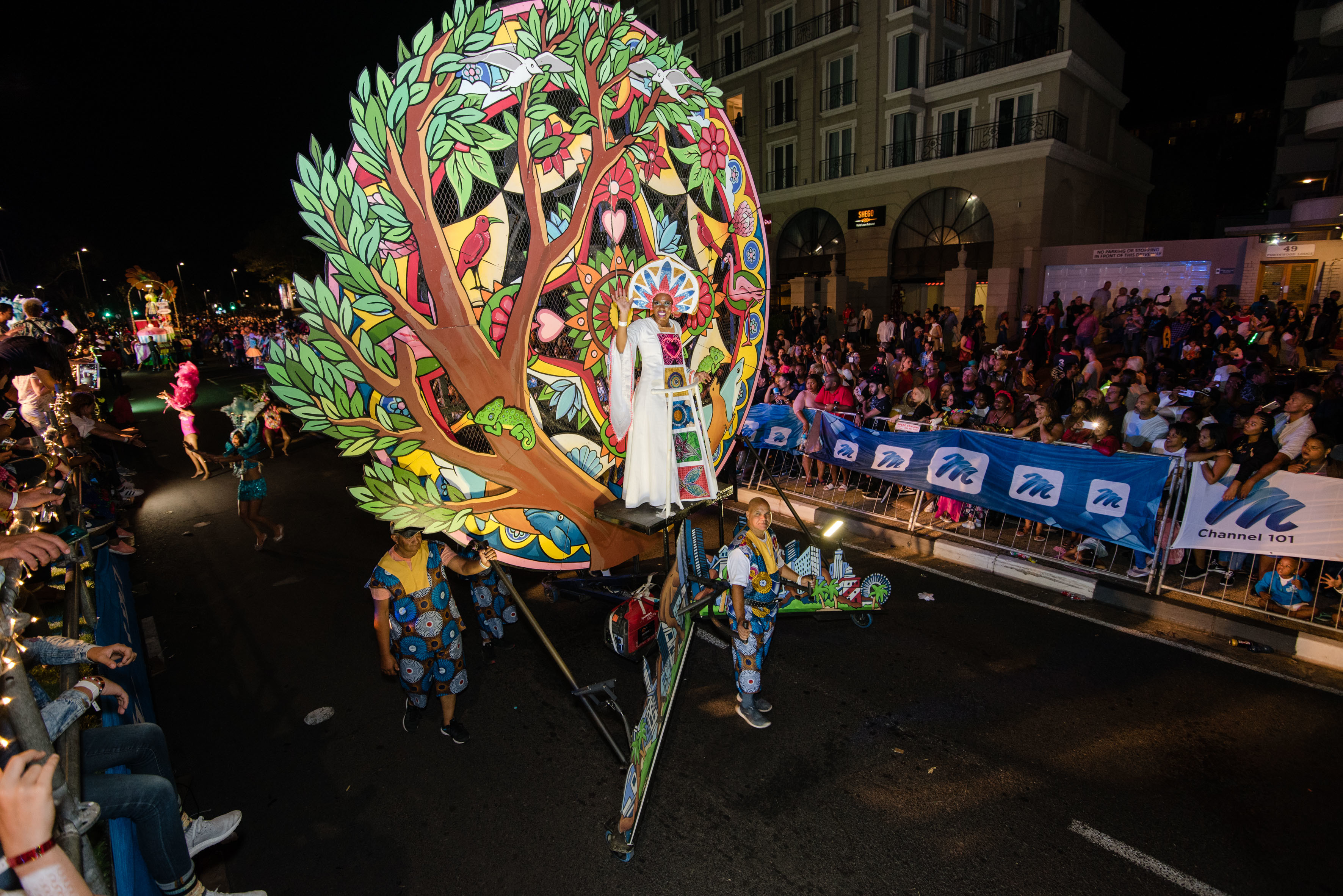 Cape Town Carnival 2018 tree display