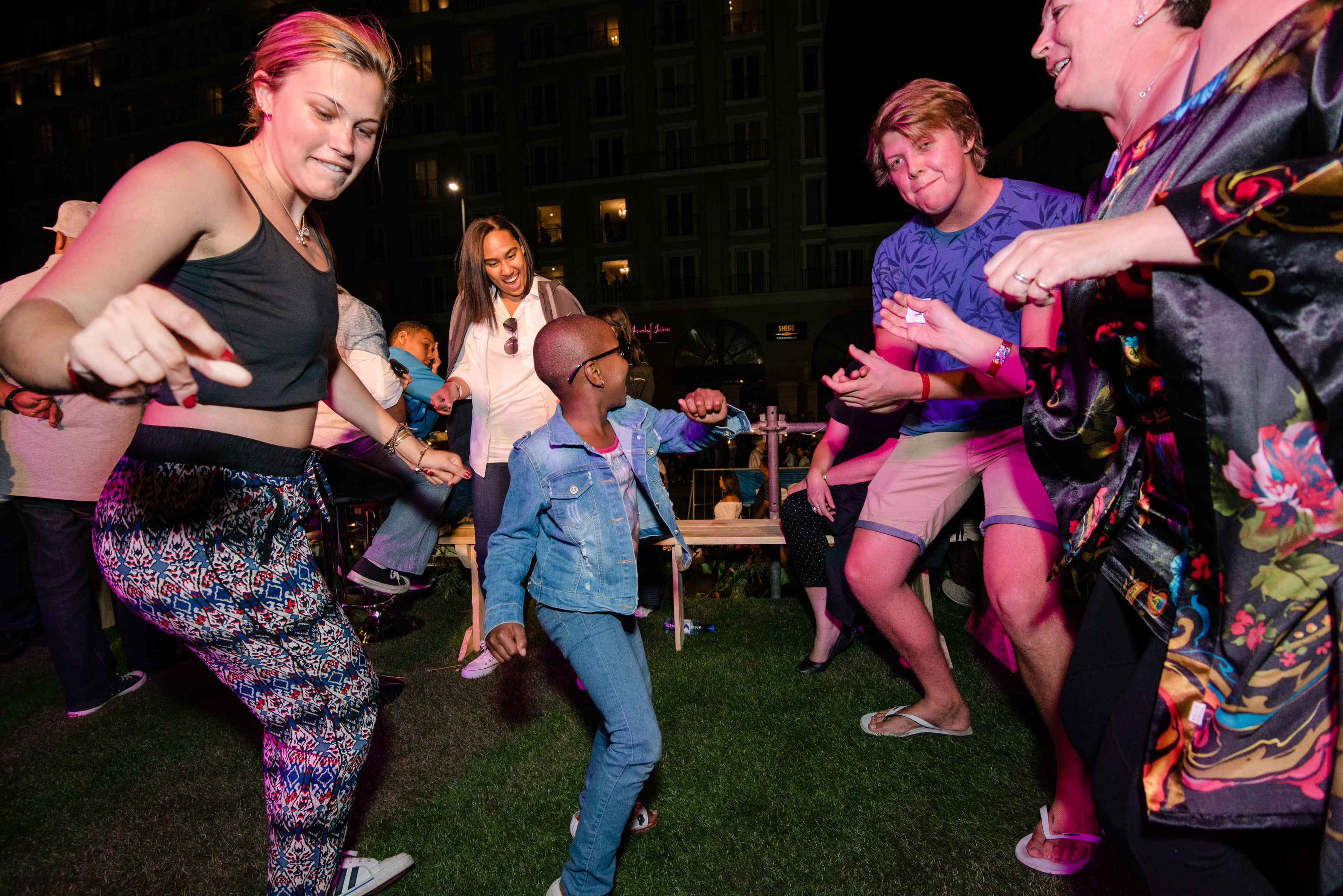 Dancing at the Cape Town Carnival 2018