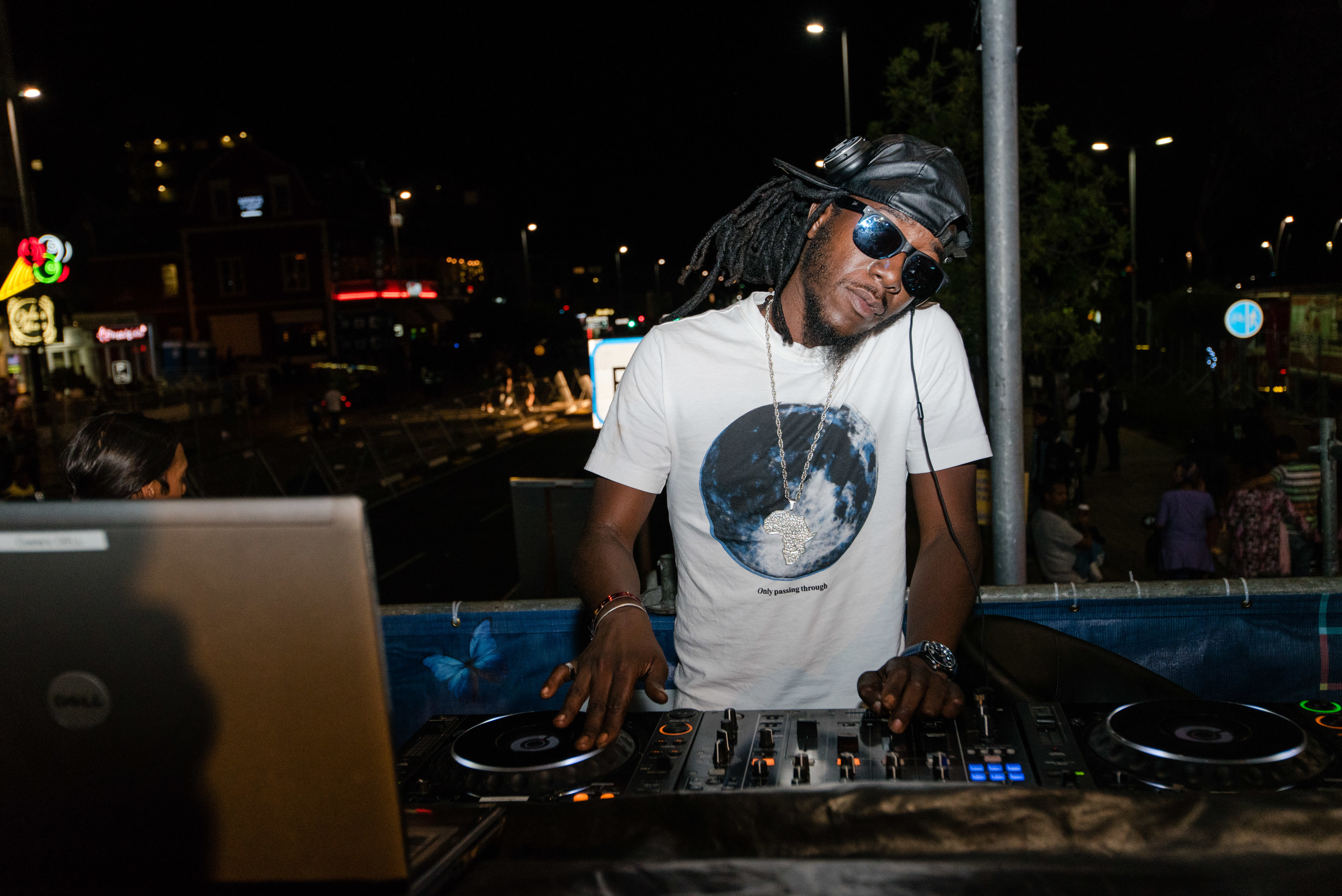 DJ at the the Cape Town Carnival 2018
