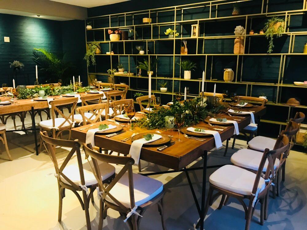 The Botanist restaurant was the venue for the exclusive welcome dinner at the Discovery and Viacom Networks campaign