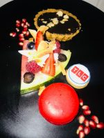 Fruit And Dessert At The Discovery And Viacom Networks Campaign