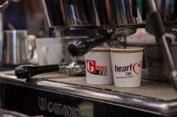 Coffee Being Made For Our Voucher Winners