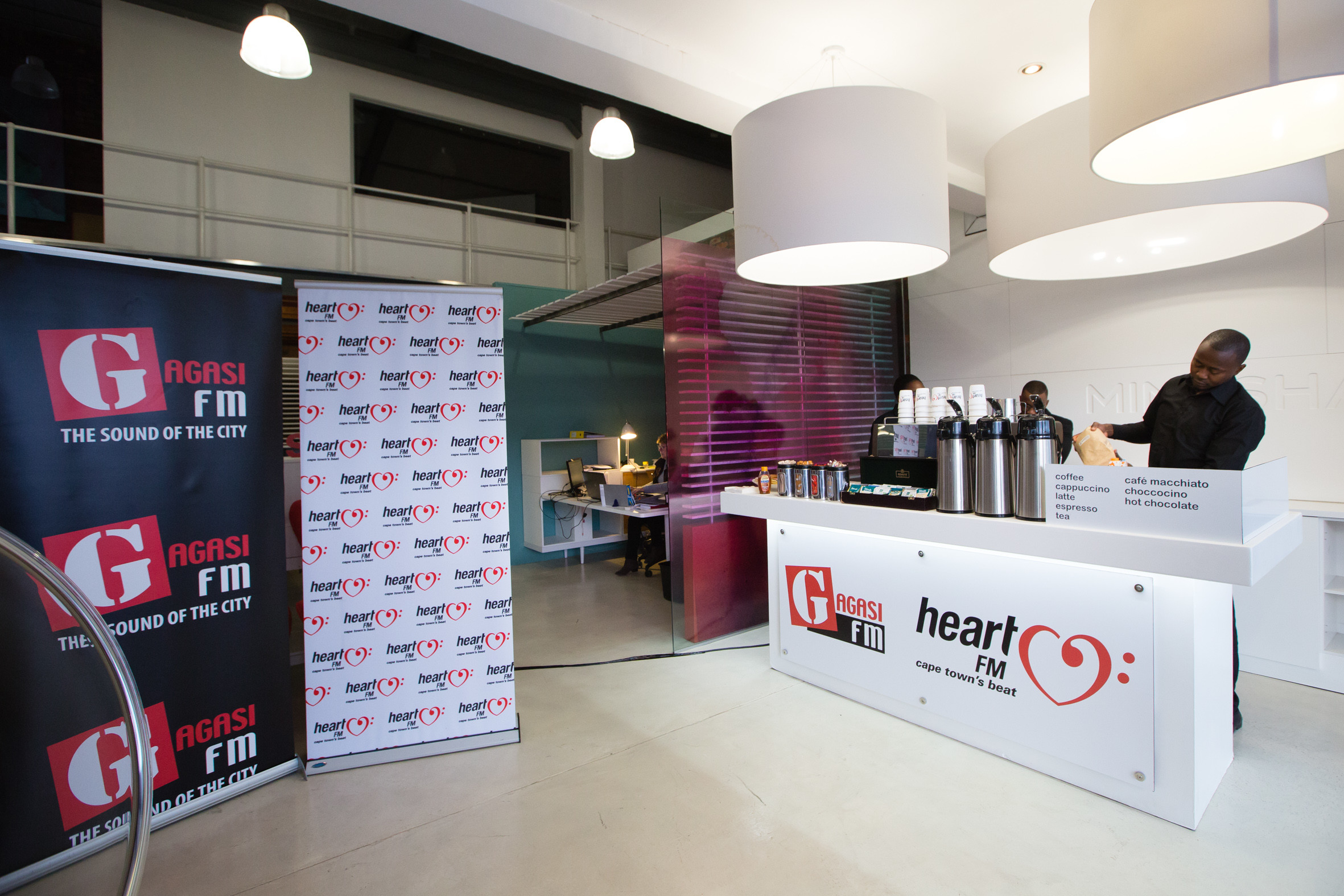 Mediamark ambush marketing stunt coffee station
