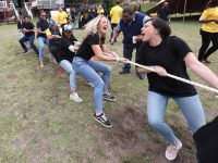 Fun And Laughter During Tug-of-war At The British American Tobacco Year-end Function