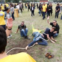 Tug-of-war Game Over At The British American Tobacco Year-end Function