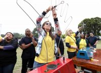 It's All Fun And Games At The British American Tobacco Year-end Function