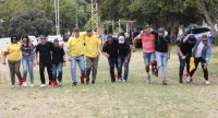 Three-legged Race At The British American Tobacco Year-end Function