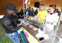 Ice Cream Stand At The British American Tobacco Year-end Function