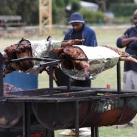 Food Braaien At The British American Tobacco Year-end Function