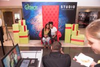 Posing At The Grinch Movie Screening At Monte Casino