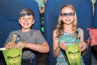Kids Having Fun Before The Grinch Movie Screening Starts