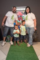 Family Photo At The Grinch Movie Screening