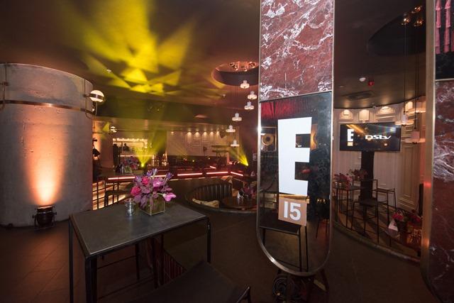 E! Entertainment 15 Birthday Event Venue
