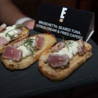 Bruschetta At The E! Entertainment 15 Birthday Event