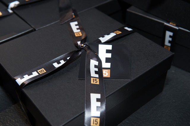 E! Entertainment 15 Birthday Celebration gift boxes