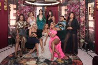 Celebrities Pose For Photos At The E! Entertainment Birthday Bash