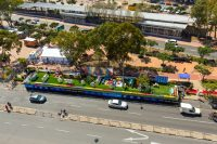 Bird's Eye View Of Multichoice's Hospitality Stand At The Cape Town Carnival