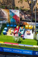 View From Above Of Multichoice Hospitality Stand