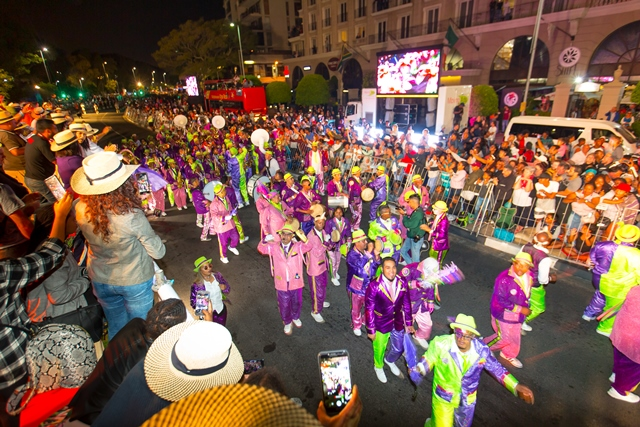 Cape Town Carnival 2019 in Procession
