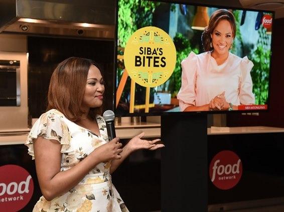 Food Networks Siba's Bites Media Event