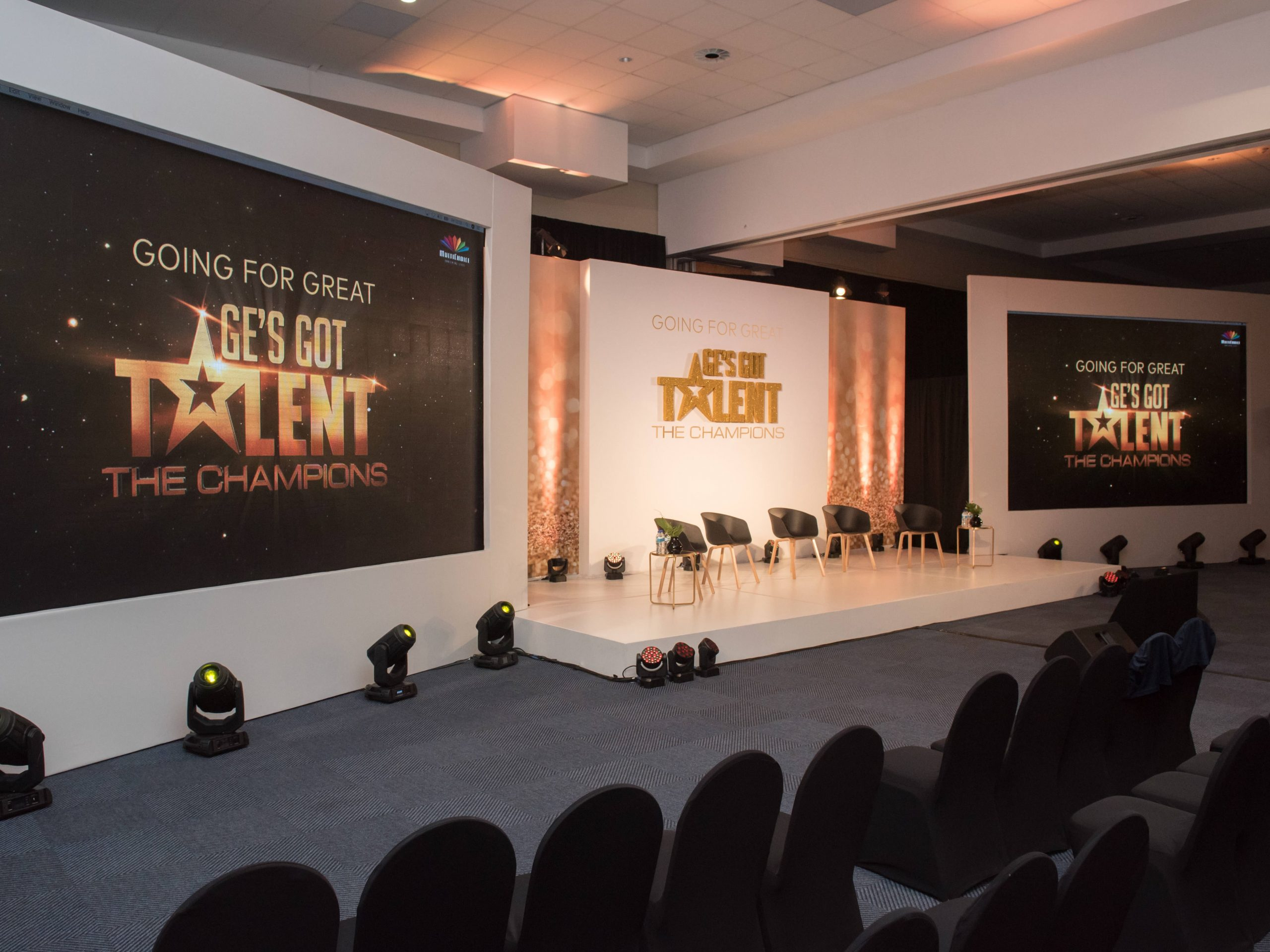 "Show Works Multichoice ""Going For Great"" Showcase"